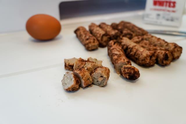 chicken sausage chopped
