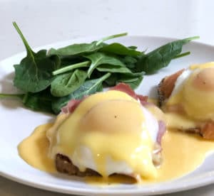 easter eggs benedict