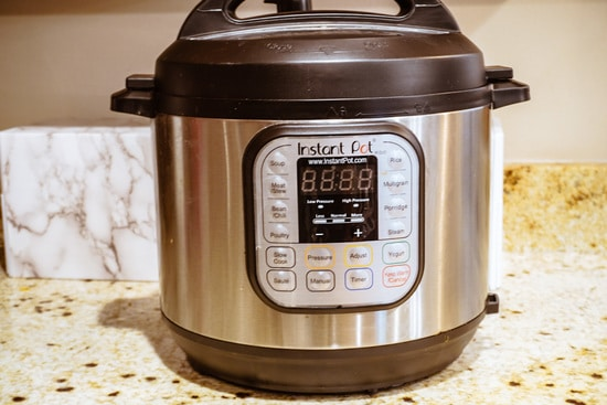 instant pot close up