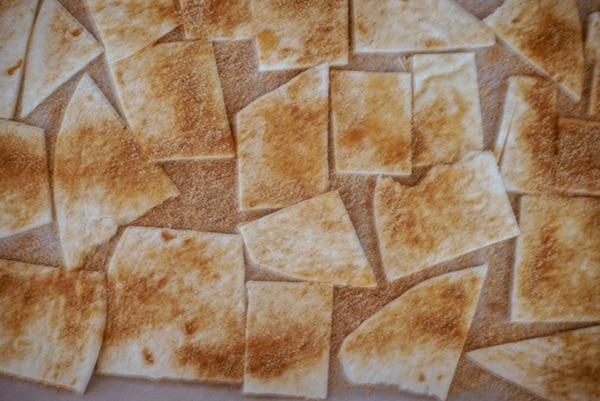 cinnamon chips before baking