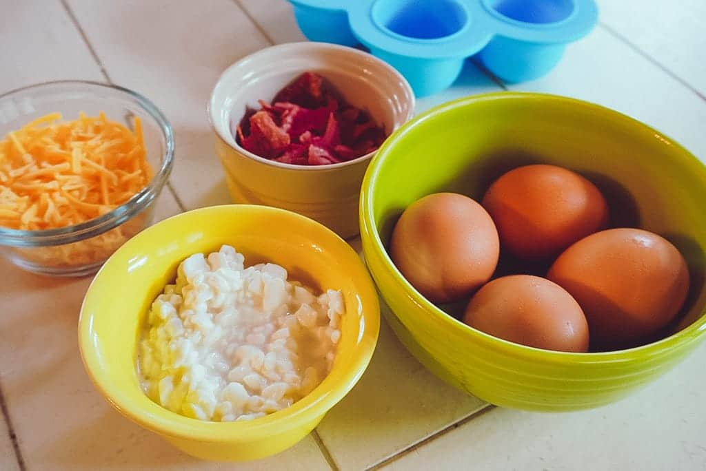 bacon and cheese egg bite ingredients