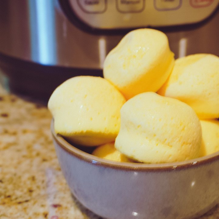 Skinny Cheesy Instant Pot Sous Vide Egg Bites