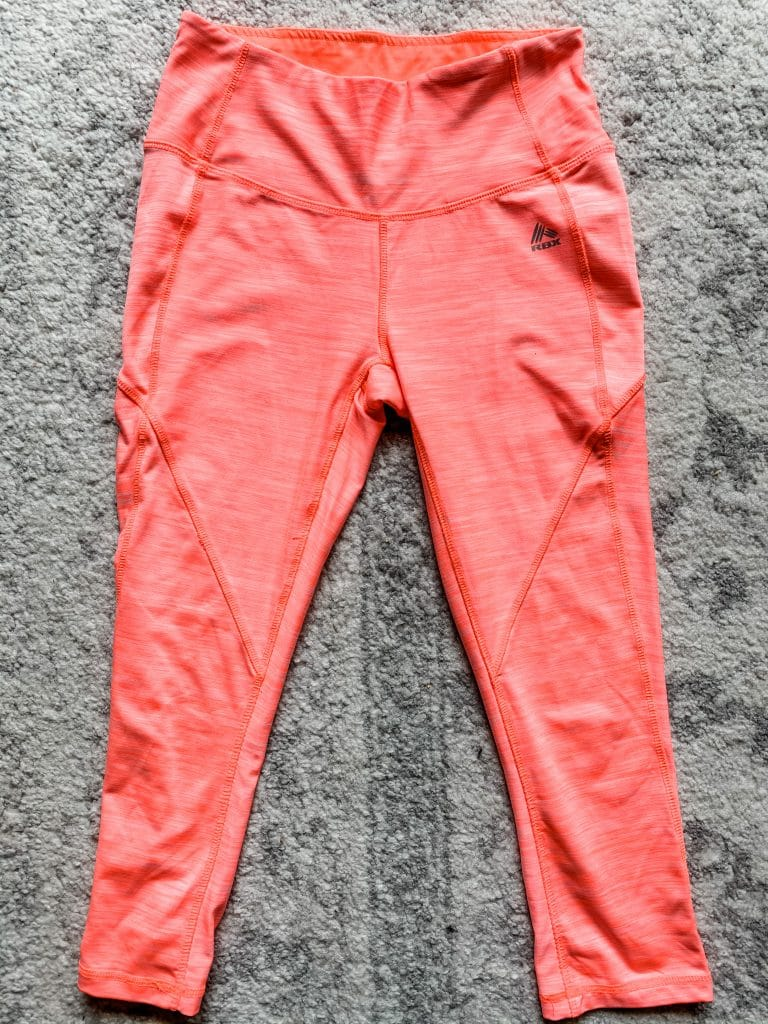pink rbx leggings