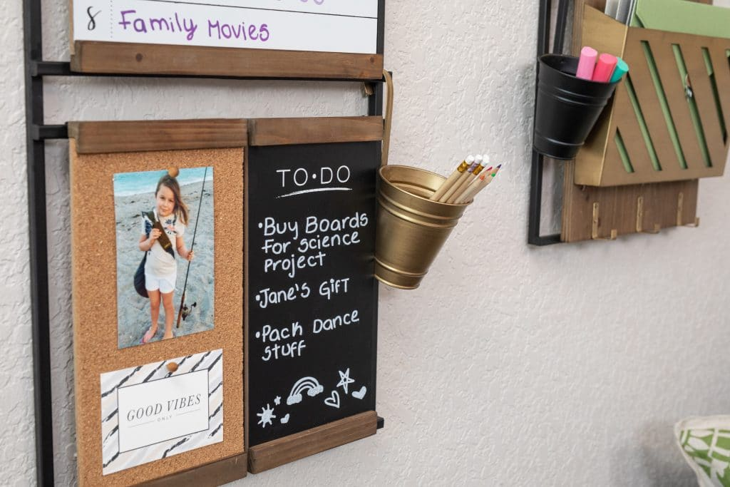 1thrive board in a kids room