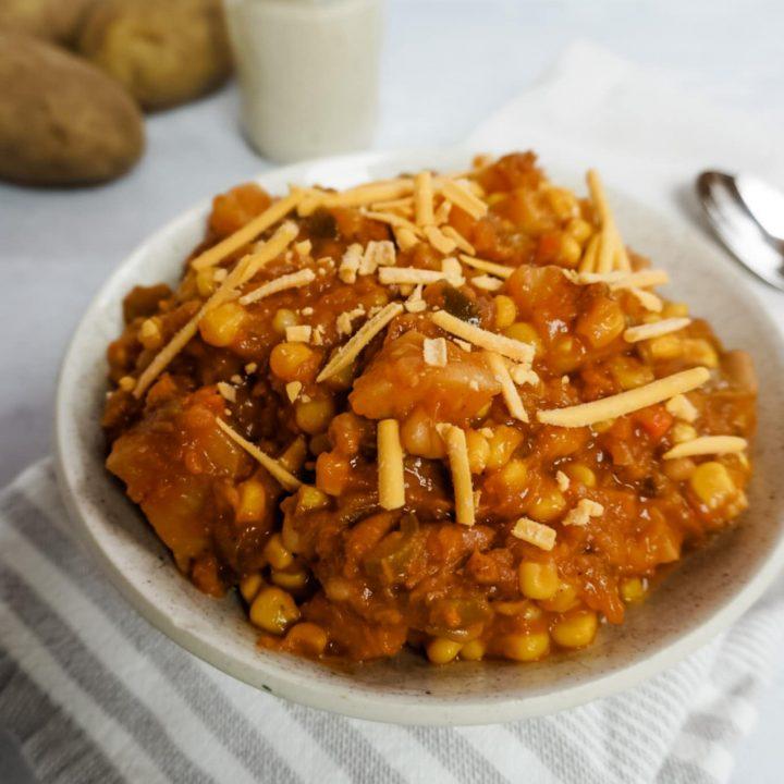 Butternut Squash and Potato Chili