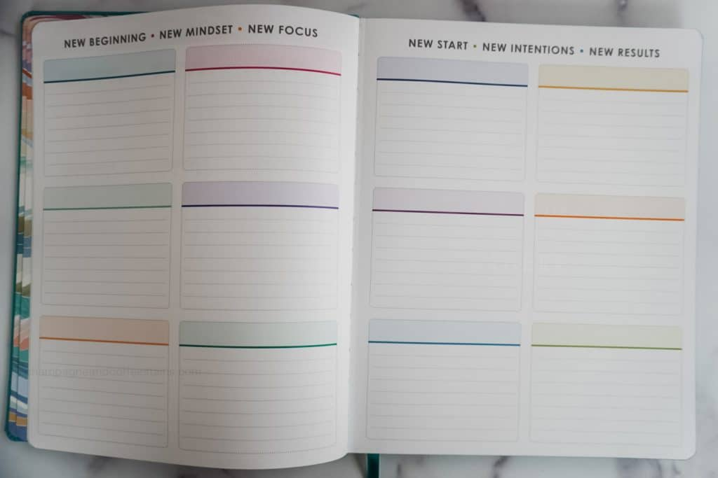 colorful blocks used for goal setting