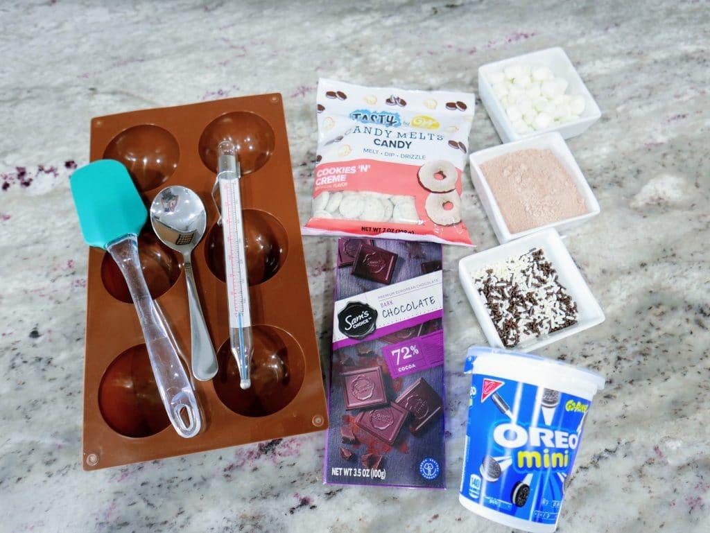 hot chocolate bomb ingredients