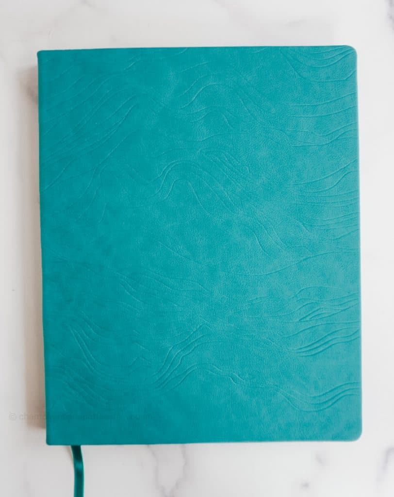 peacock cover of the lifeplanner