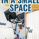 how to make the ultimate peloton gym in a small space
