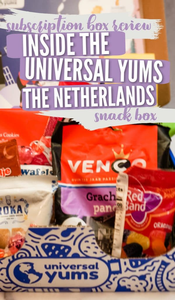 unverisal yums the netherlands subscription box review pinterest pin