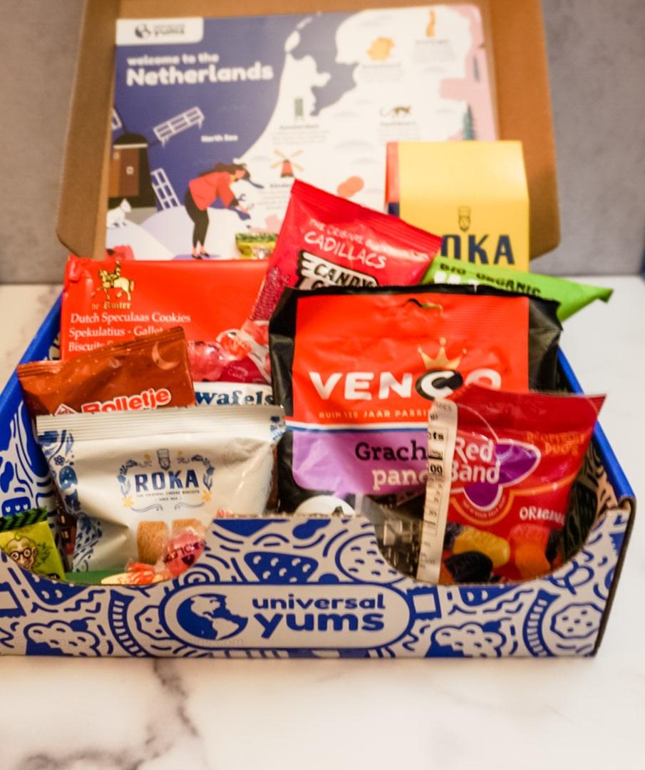 universal yums netherlands box