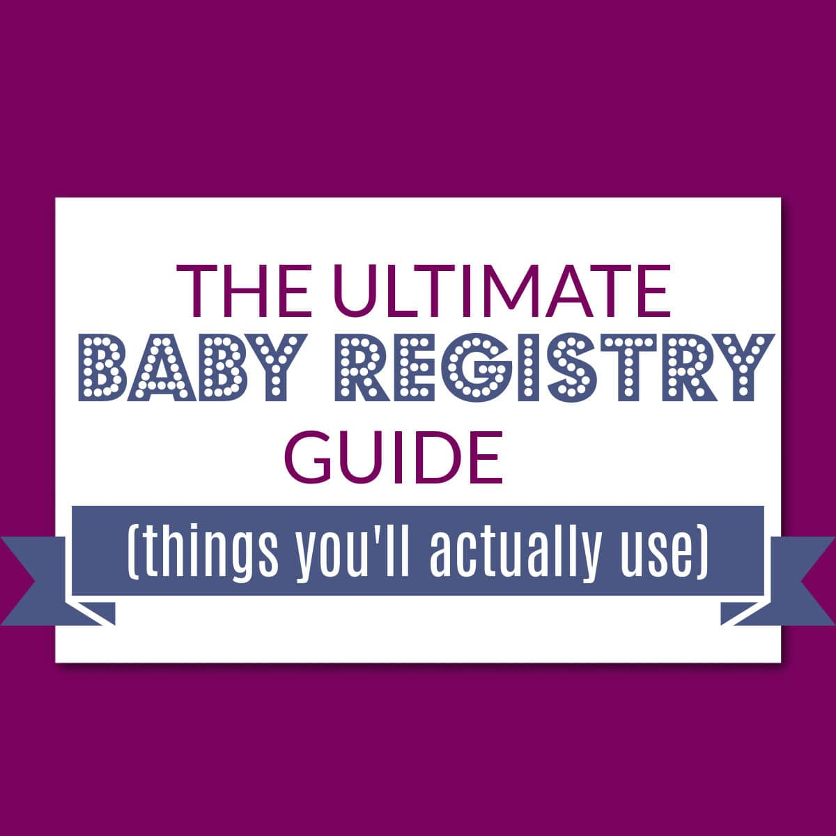 baby list essentials blog post image