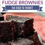 instant pot fudge brownies pinterest pin