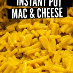 instant pot mac and cheese pinterest pin