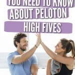 peloton high fives pinterest pin