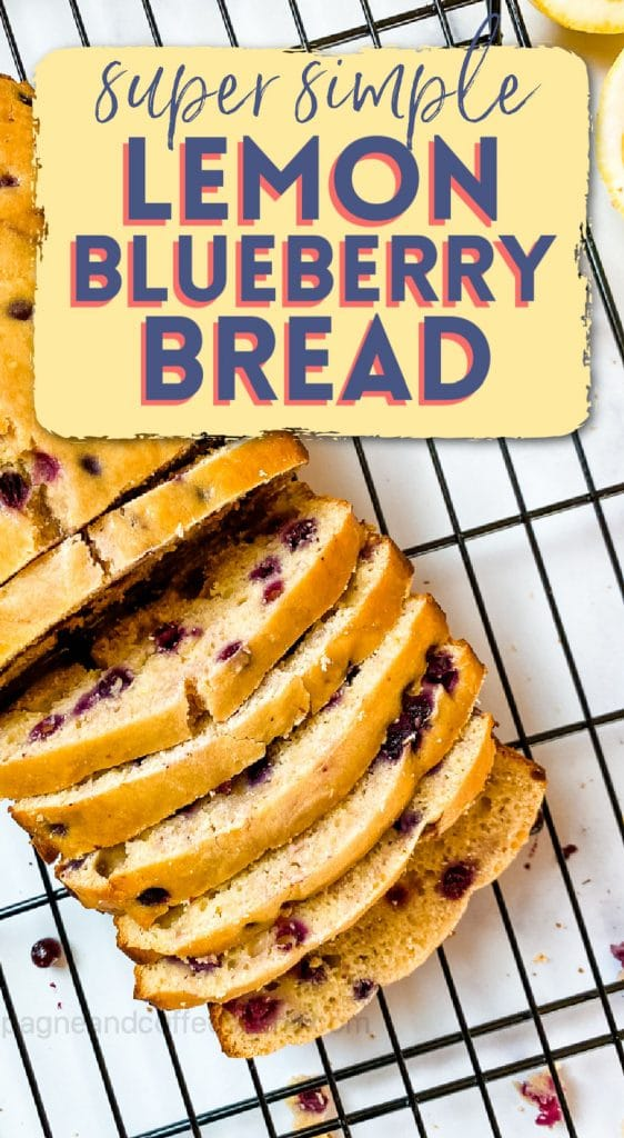 lemon blueberry bread pinterest pin