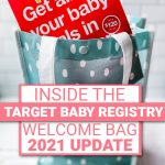target baby registry welcome bag pinterest pin