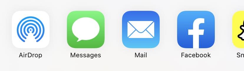 iphone share screen
