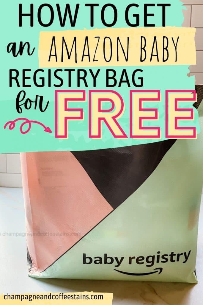 amazon baby registry welcome bag pinterest pin