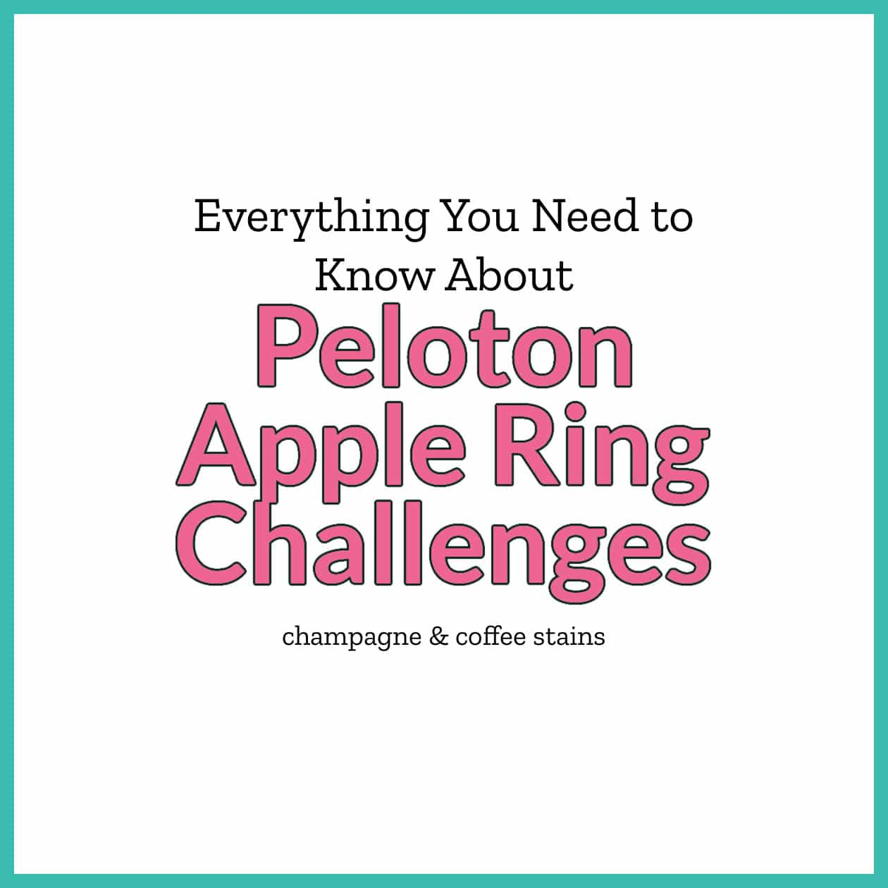 peloton apple ring challenges