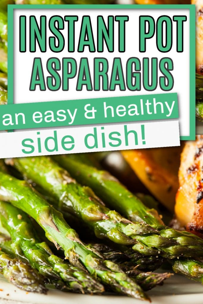 instant pot asparagus pinterest pin