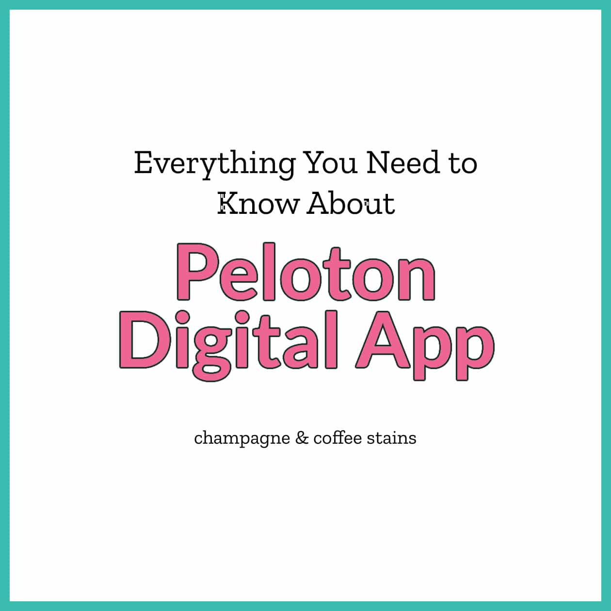 peloton digital app review