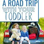 toddler road trip pinterest pin