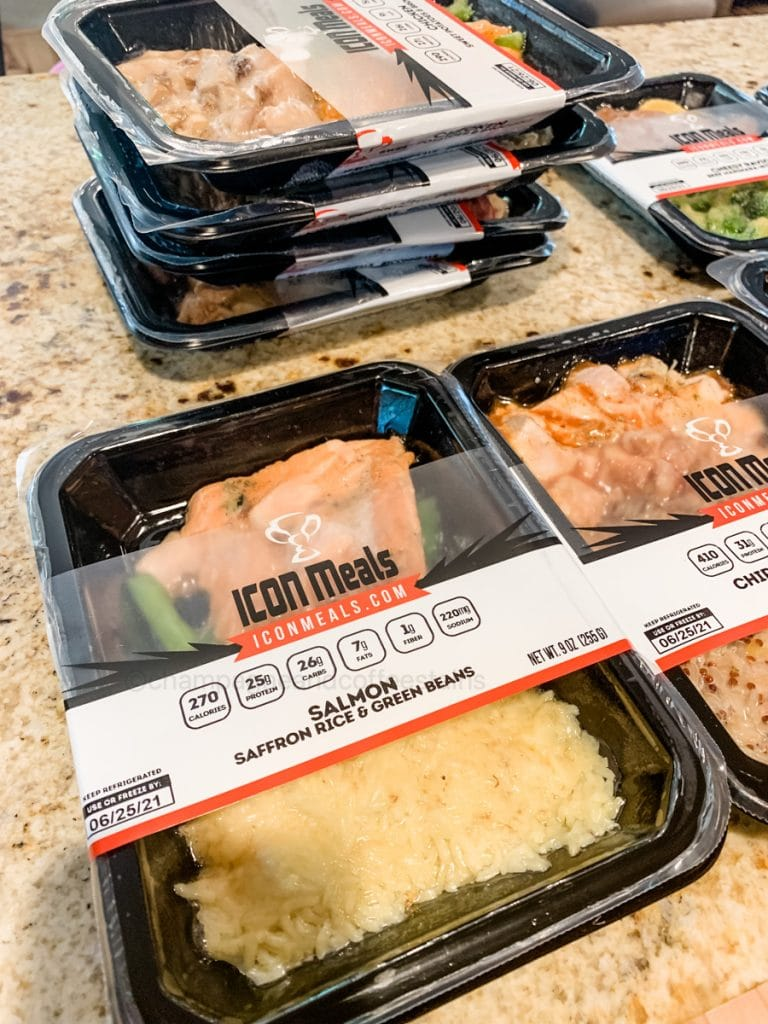 close up of icon meals