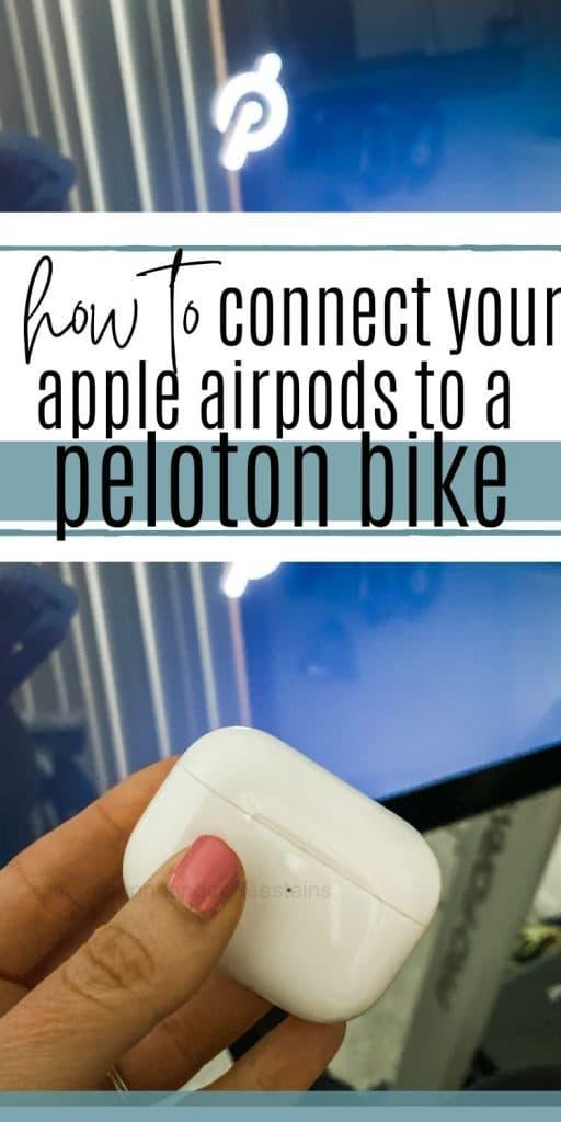 peloton airpod pinterest pin