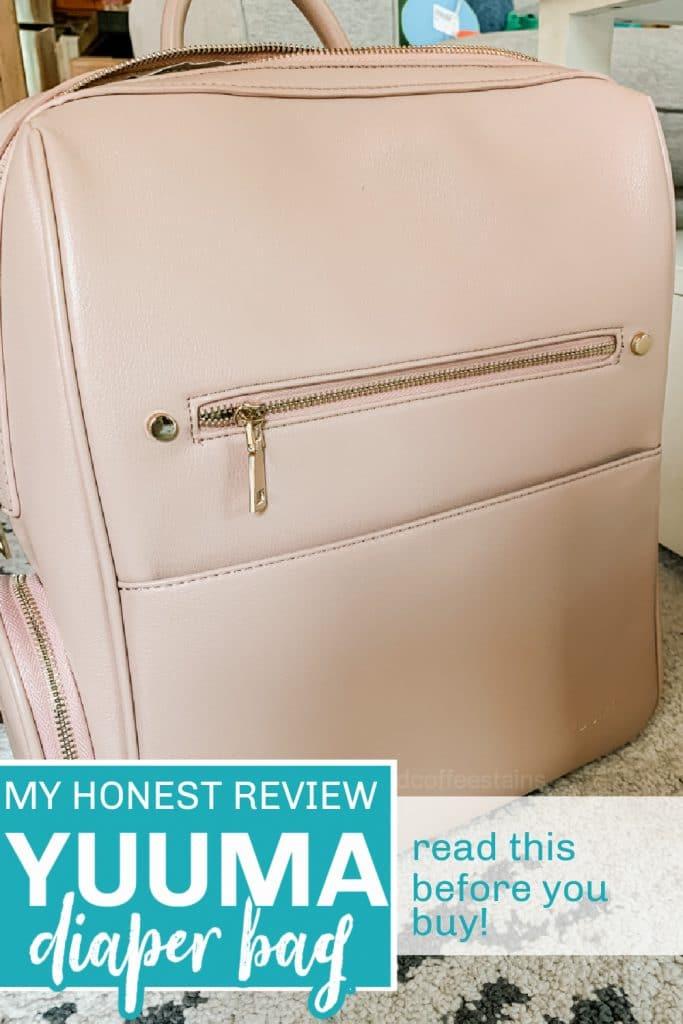 Yuuma diaper bag pinterest pin