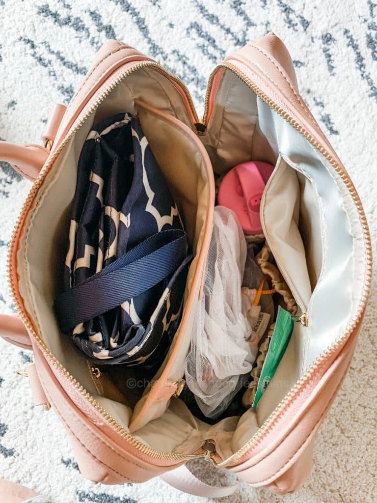 packed yuuma bag
