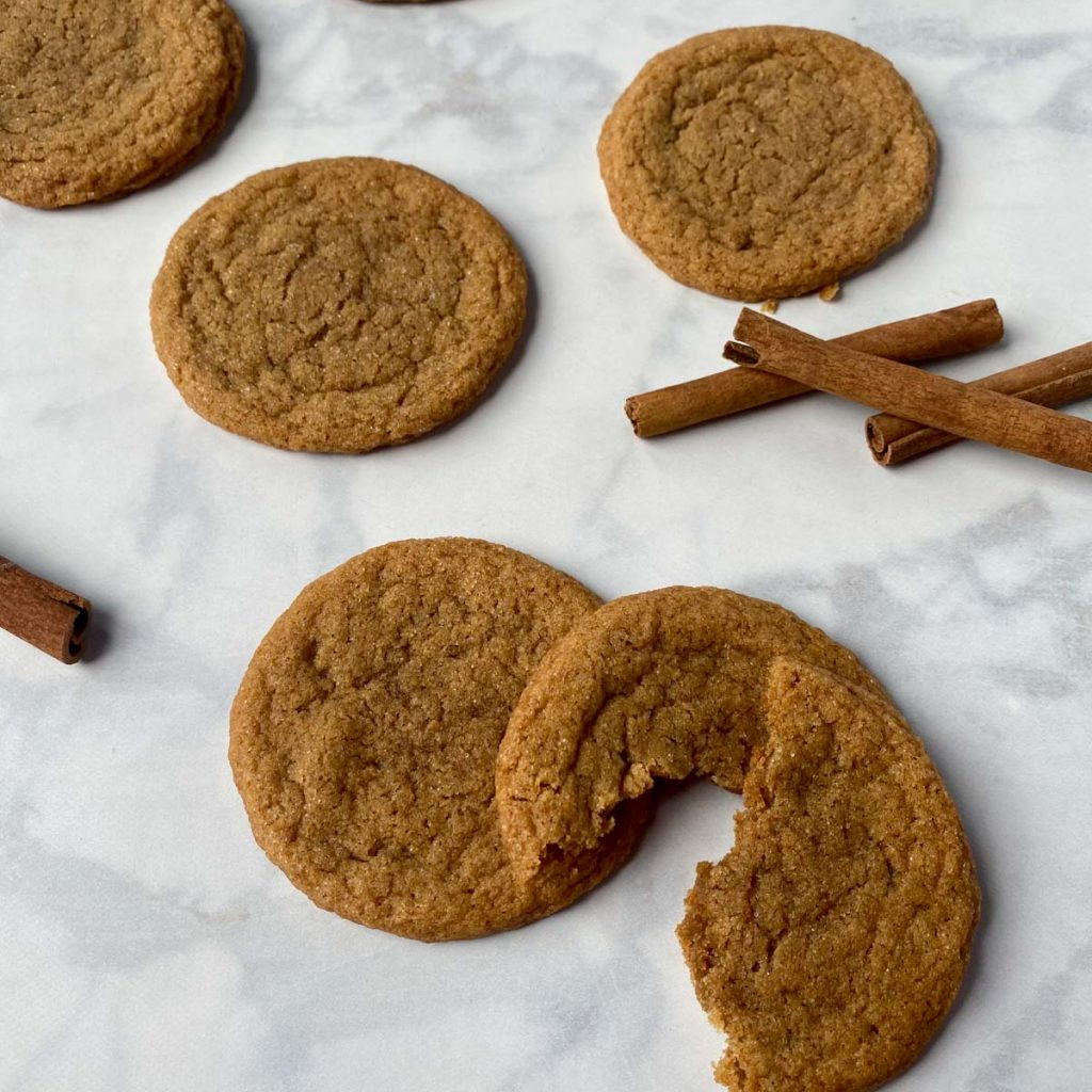 ginger cookies on a table