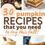 canned pumpkin recipes pinterest pin