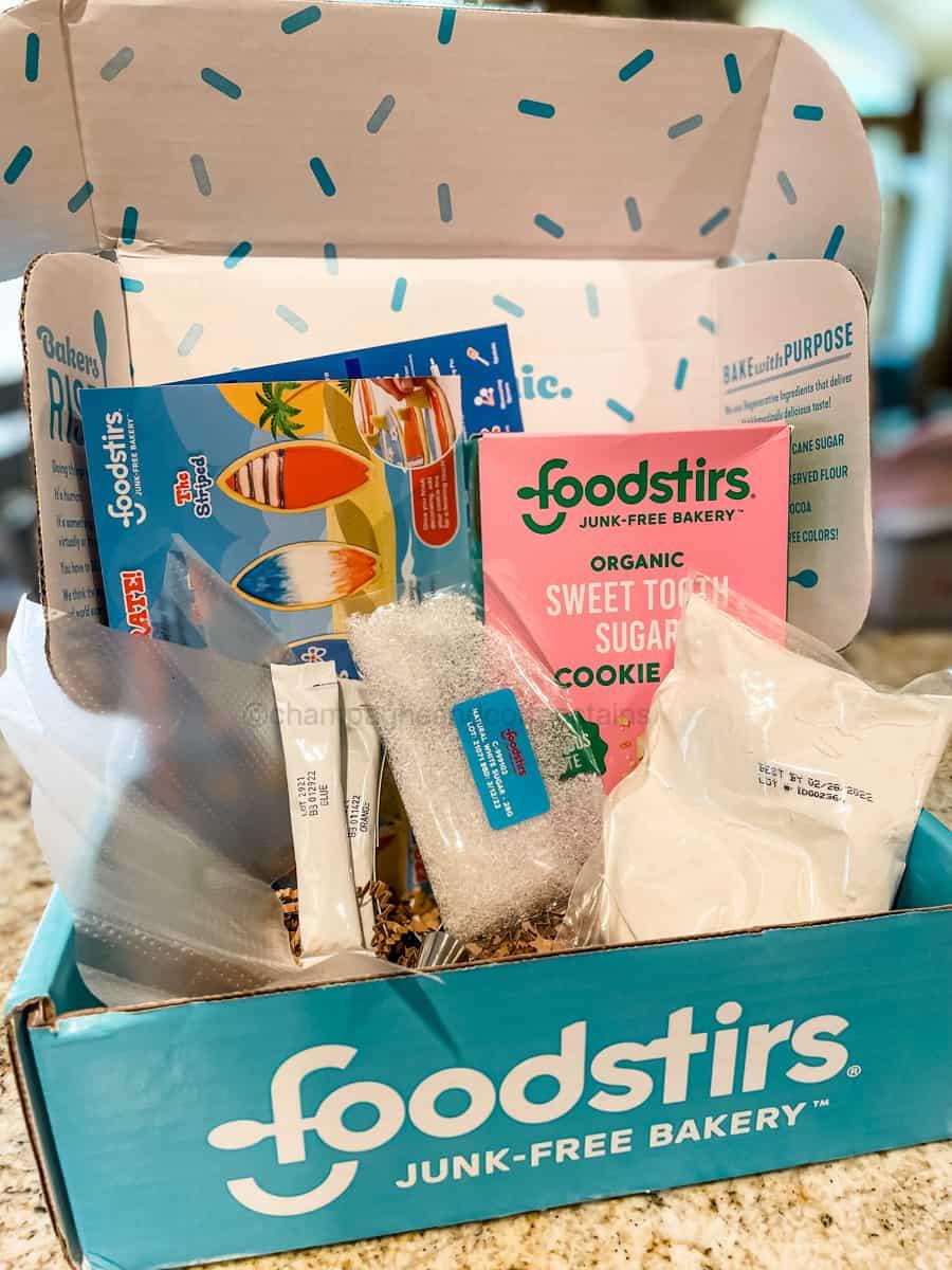foodstirs baking kit box