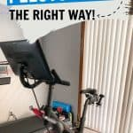 how to clean peloton bike and tread pinterest pin
