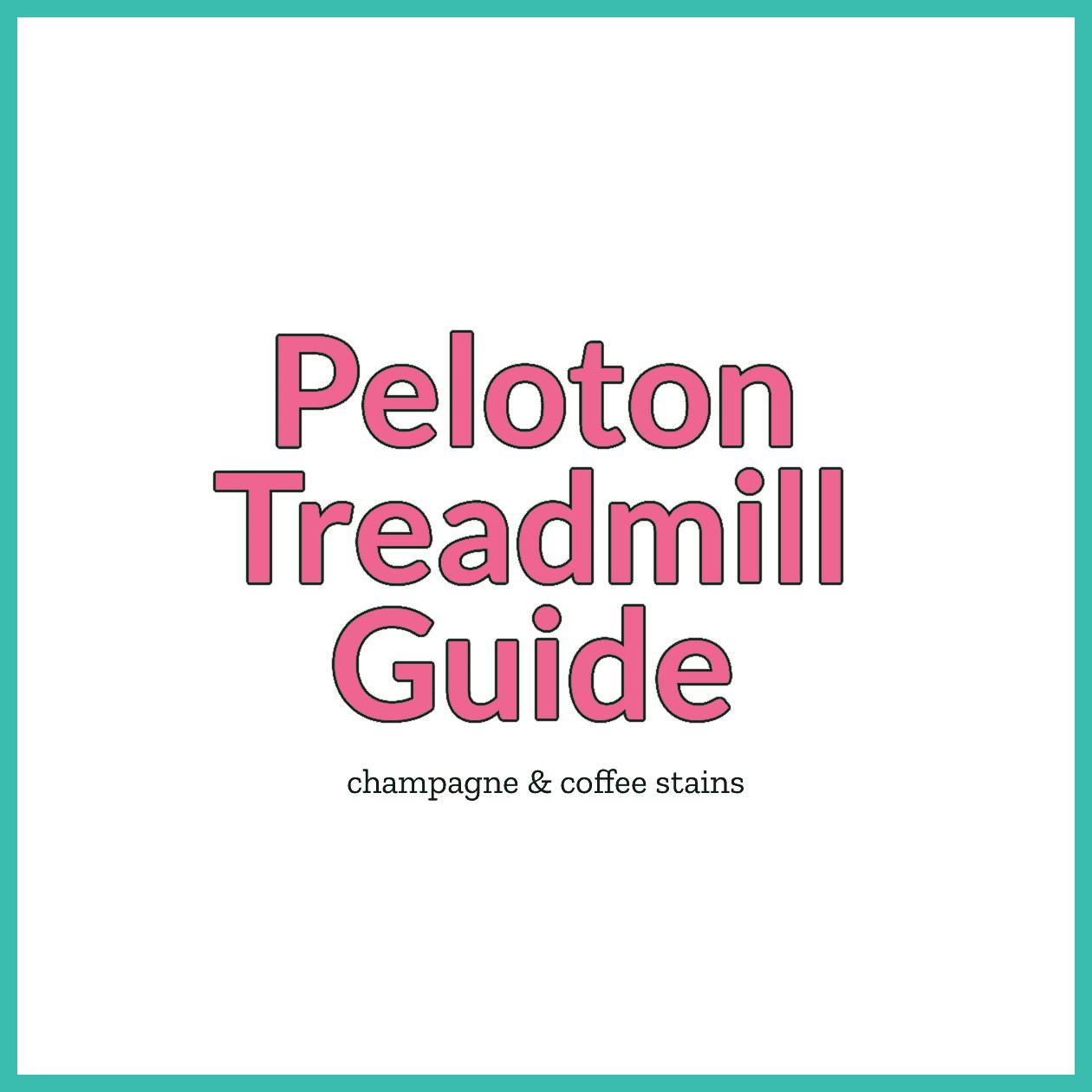 peloton treadmill guide blog image