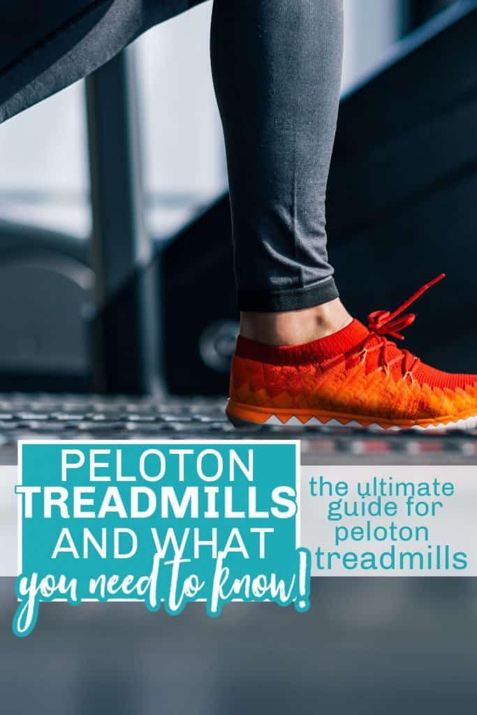 peloton treadmill guide pinterest pin