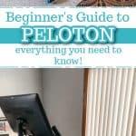 peloton guide for beginners pinterest pin