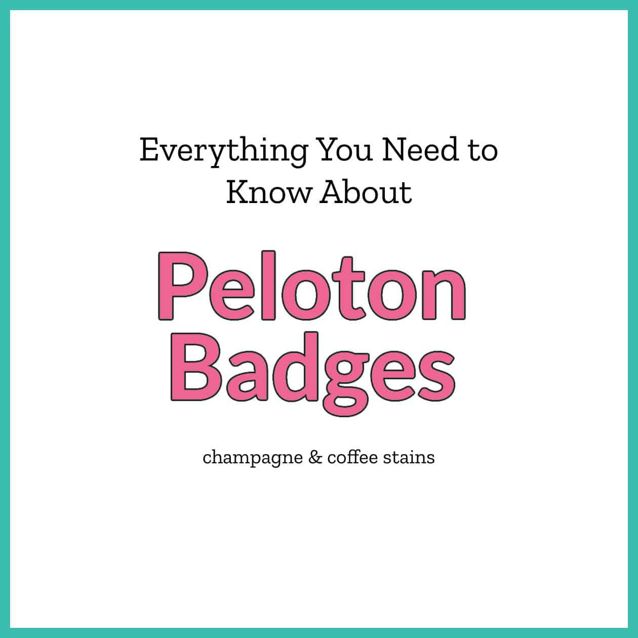 peloton badge blog image
