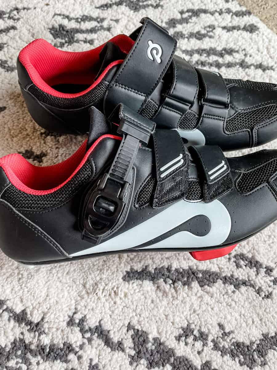 side of peloton bike shoes