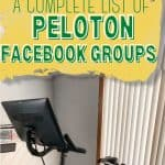 peloton facebook groups pinterest pin