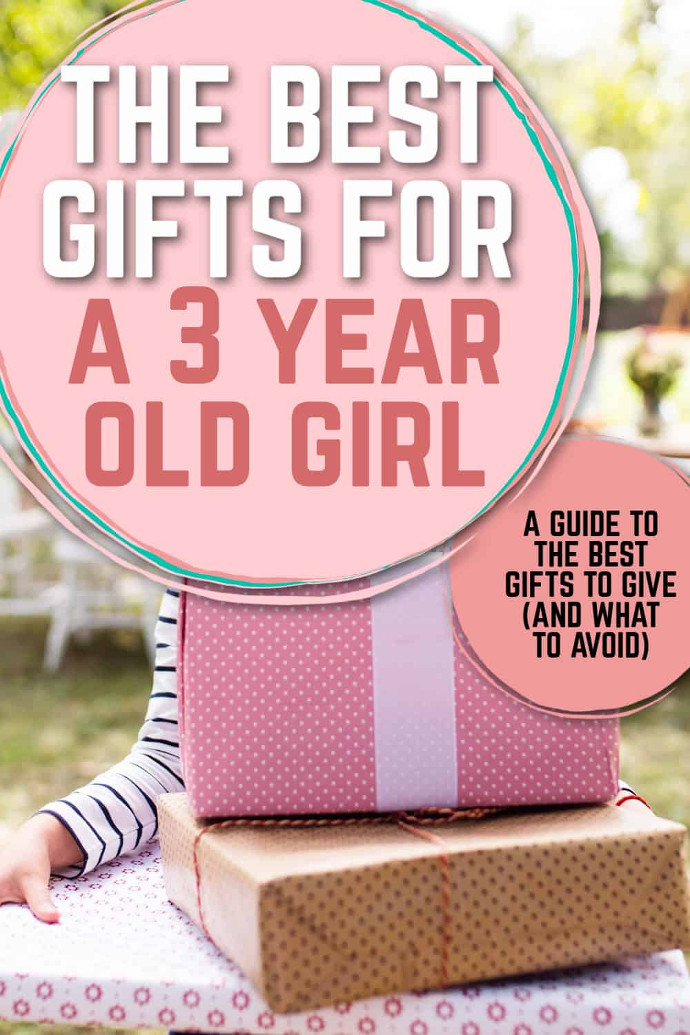 gifts for a 3 year old girl pinterest pin