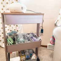 """Lexington 3-Tier Rolling Cart by Simply Tidy"""""""
