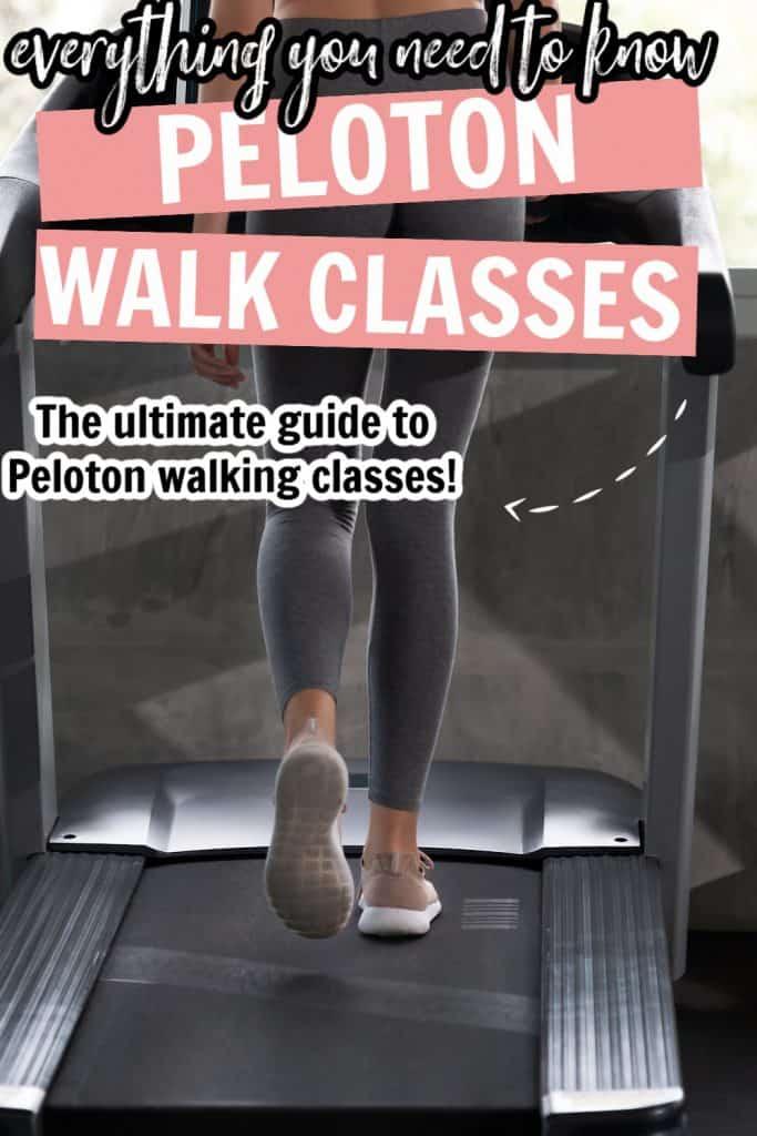 peloton walking class pinterest pin